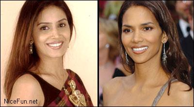 Bollywood Actress & Halle Berry - Looks Identical, Don't they