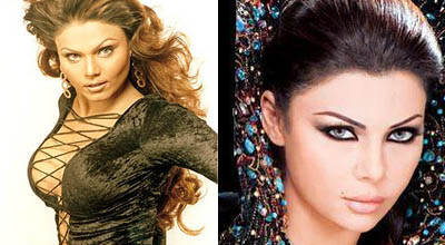 Rakhi Sawant & Haifa Wehbe - Lebonese Model - Drama Queens