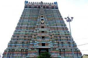 The Temple of Srirangam (Sri Ranganathaswamy Temple), India