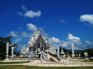 Wat Rong Khun in Chiang Mai, Thailand