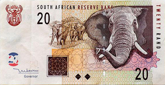 South African Money Symbol